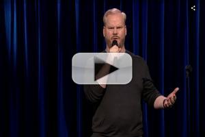 VIDEO: Jim Gaffigan Explains Why It's Easier to Be a Guy on TONIGHT SHOW