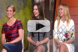 VIDEO: PITCH PERFECT 2 Stars Brittany Snow, Hailee Steinfeld & Anna Camp Visit 'Today'