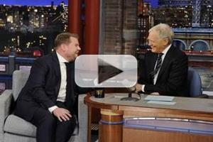 VIDEO: Sneak Peek - James Corden Makes First Visit to CBS's LATE SHOW Tonight!