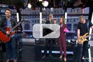 VIDEO: Nickelback Discuss New Album 'No Fixed Address' on GMA