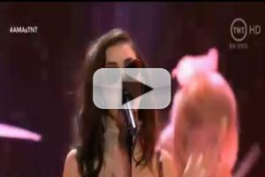 VIDEO: Charli XCX Performs 'Boom Clap/Break The Rules' on AMA's