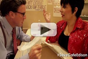 STAGE TUBE: Christine Pedi & Michael West Bring Out Liza & Larry to #SaveCafeEdison!