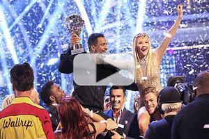 VIDEO: Broadway's Alfonso Ribeiro Wins Season 19 of DANCING WITH THE STARS!