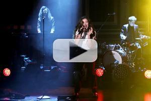 VIDEO: Lorde Performs Hunger Games' 'Yellow Flicker Beat' on TONIGHT