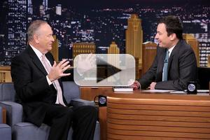 VIDEO: Bill O'Reilly Talks Ferguson Riots & More on TONIGHT SHOW