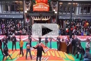 STAGE TUBE: Sting Leads the Cast of THE LAST SHIP on the Parade!