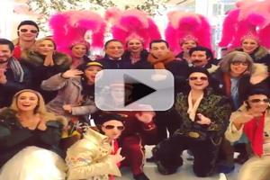 STAGE TUBE: HONEYMOON IN VEGAS Releases Thanksgiving Video