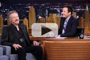 VIDEO: Christopher Walken Reveals Why PETER PAN LIVE! Is 'So Scary' on 'Tonight Show'