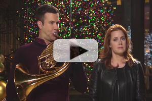 VIDEO: Host Amy Adams Promos This Week's SATURDAY NIGHT LIVE