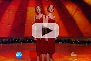 VIDEO: SIDE SHOW's Erin Davie and Emily Padgett Perform on THE VIEW