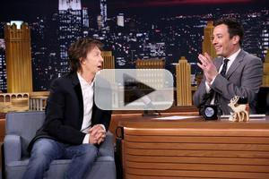 VIDEO: Paul McCartney Talks Early Beatles Years & More on TONIGHT