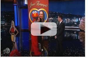 VIDEO: Jimmy Kimmel Helps Audience Member Propose to Girlfriend on KIMMEL