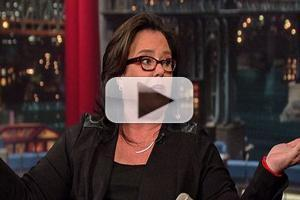 VIDEO: Rosie O'Donnell Talks Hosting 'The View' & More on LETTERMAN