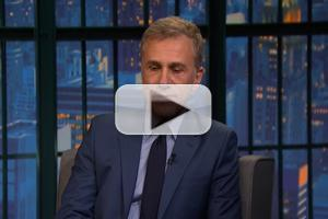 VIDEO: Chistoph Waltz Talks New Film 'Big Eyes' on LATE NIGHT