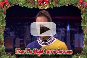 VIDEO: Watch Nick Offerman Read Abbreviated Version of 'Night Before Christmas' on TONIGHT