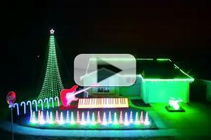 VIDEO: Fan Creates Epic STAR WARS Christmas Light Show