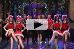 STAGE TUBE: Watch Amy Adams and SNL Cast Get Into the Christmas Spirit with Classic MAME Tune!