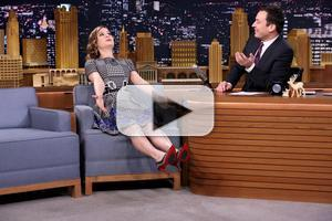 VIDEO: Actress Brie Larson Suggests TONIGHT SHOW Conga Line