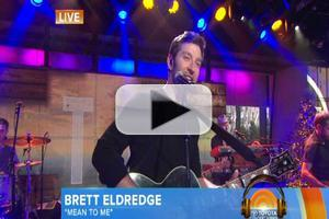 VIDEO: Country Singer Brett Eldredge Performs 'Mean to Me' on TODAY