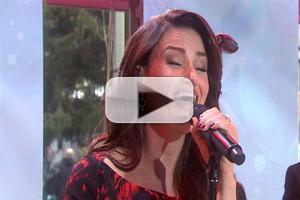 VIDEO: Idina Menzel Sings Holiday Classic 'White Christmas' on TODAY