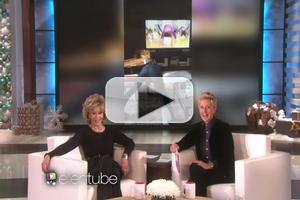 Video Ellen Secretly Films Portia De Rossi S Jane Fonda