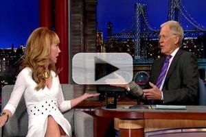 VIDEO: Kathy Griffin Calls David Letterman 'Worst Dressed' on LATE SHOW