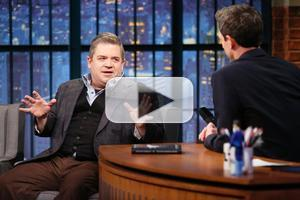 VIDEO: Patton Oswalt Talks New Book 'Silver Screen Fiend' on LATE NIGHT