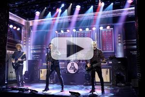 VIDEO: Fall Out Boy Perform Hit Single 'Centries' on TONIGHT SHOW