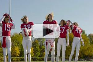 STAGE TUBE: Victoria's Secret's 'Don't Drop the Ball' Super Bowl Commercial