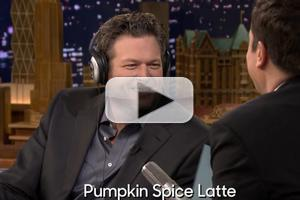 VIDEO: Blake Shelton Takes 'The Whisper Challenge' on TONIGHT