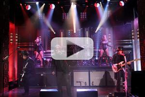 VIDEO: Legendary Rock Band Motley Crue Perform on TONIGHT SHOW