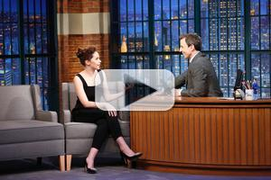 VIDEO: Felicity Jones Talks New Film 'Theory of Everything' on LATE NIGHT