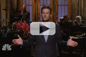 VIDEO: Blake Shelton Compares Himself to Justin Bieber in SNL Opening Monologue