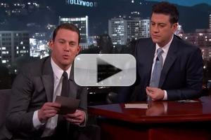 VIDEO: Channing Tatum Reveals 'Team OSCAR' on JIMMY KIMMEL LIVE