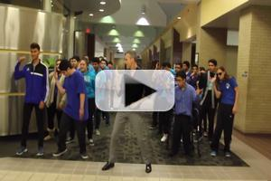 VIDEO: Theater Teacher's 'Uptown Funk' Video Brings Bruno Mars to Tears!