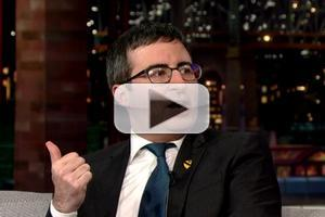 VIDEO: John Oliver Fears Deportation If He Doesn't Watch the Super Bowl!