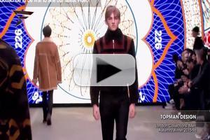 VIDEO: ALEXANDER MCQUEEN Men's Collection During London A/W Fashion Week