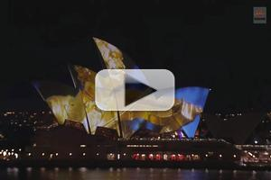 STAGE TUBE: Live Stream of Sydney Symphony Orchestra Projected on Sydney Opera House