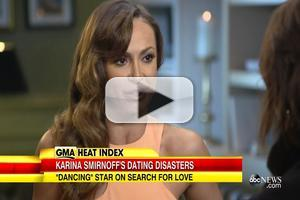 VIDEO: DWTS' Karina Smirnoff Talks Dating Disasters in New Book!
