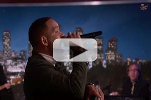 VIDEO: Will Smith Performs '90's Classic 'Summertime' on JIMMY KIMMEL
