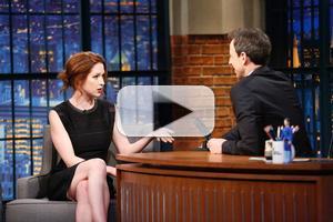 VIDEO: Ellie Kemper Talks Failed SNL Audition & More on LATE NIGHT