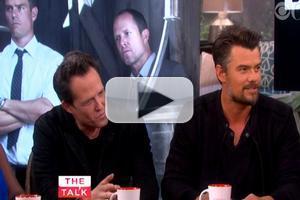 VIDEO: Josh Duhamel & Dean Winters Chat New Series 'Battle Creek' on THE TALK