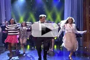 VIDEO: Kevin Bacon Recalls Epic TONIGHT SHOW  'Footloose' Performance