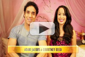 VIDEO: ALADDIN's Adam Jacobs & Courtney Reed Share What They've Learned About Love