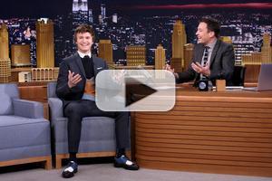 VIDEO: Ansel Elgort Talks New 'Divergent' Film & More on TONIGHT