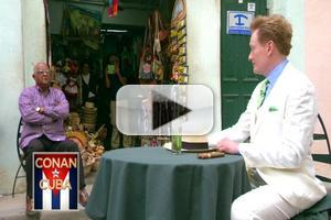 VIDEO: CONAN Becomes First Late Night Host in 50 Years to Film in Cuba; Watch Preview!