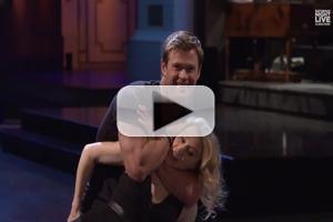 VIDEO: Chris Hemsworth & Kate McKinnon Attempt 'Dirty Dancing' Lift in New SNL Promo