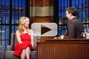 VIDEO: Anne Heche Talks New TV Series 'Dig' & More on LATE NIGHT