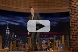VIDEO: Watch Jimmy Fallon Do THE TONIGHT SHOW Desk Dance!