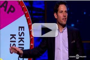 VIDEO: Sneak Peek - Paul Rudd Spins 'Wheel of Intimacy' on NIGHT OF TOO MANY STARS